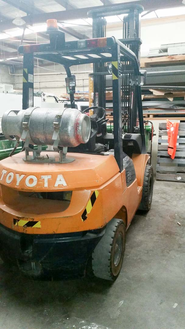 Toyota Forklift (2)